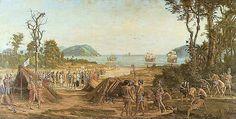 A fundação de São Vicente no litoral paulista iniciou o processo de colonização do Brasil como política sistemática do governo português, motivada pela presença de estrangeiros que ameaçavam a posse da terra.