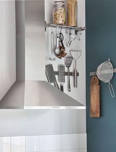 Liste e binari magnetici sulle pareti: una soluzione per sfruttare gli spazi inutilizzati - IKEA