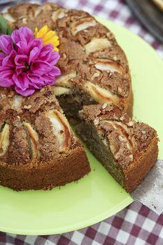 Bramley apple cake