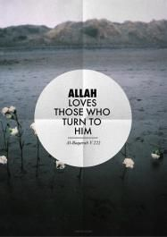 Quran: Allah loves those who turn to him