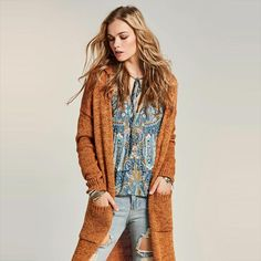 Casual fall sweater cardigan days processing, shipping times may vary Gender: WomenClosure Type: NoneModel Number: Length(cm): FullThickness: Fall Cardigan, Fall Sweaters, Casual Fall, Bohemian, Style, Fashion, Swag, Moda, Stylus