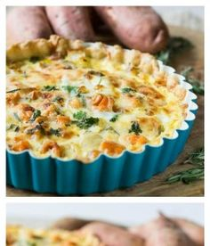 Roasted Sweet Potato Quiche | Want-to-Share.com