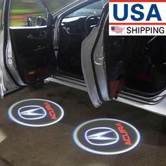 NEW 2x Wireless Ghost Shadow Laser Projector Courtesy Door Step Corvette