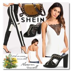 """""""Shein 10"""" by crvenamalina ❤ liked on Polyvore featuring WALL"""