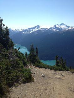 Cheakamus Lake Whistler Great hike on High Note trail