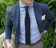 Knitted ties are great to tone the outfit down a notch, but still look put together.