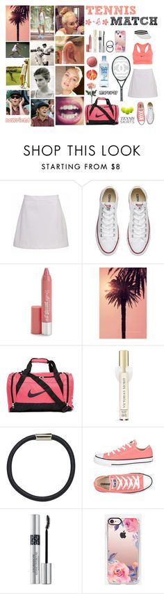 """Tennis Match!"" by marty-97 ❤ liked on Polyvore featuring Converse, Hard Candy, WALL, Cyrus, NIKE, Victoria's Secret, Hershesons, Christian Dior, Casetify and Chanel"