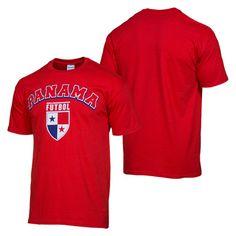 Panama Classic Soccer Sport tee Ð Red www.CoolPanama.com