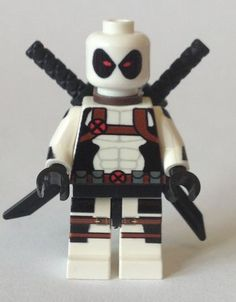 X Force Deadpool PC Customs Minifigure