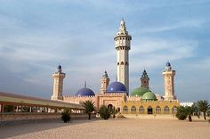 The Ornate And Beautiful Great Mosque In Touba, Senegal