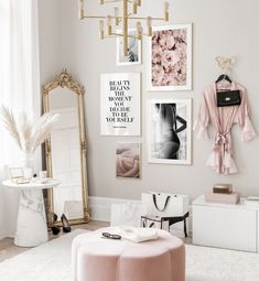Gallery Wall Inspiration - Shop your Gallery Wall Room Ideas Bedroom, Decor Room, Bedroom Decor, Bedroom Shelves, Bedroom Signs, Master Bedroom, Inspiration Wand, Home Decor Inspiration, Decor Ideas