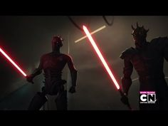 Darth Maul & Savage Opress VS Obi Wan & Adi Gallia - YouTube
