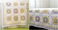 African Granny Crochet Blanket [Free Pattern] | DIY