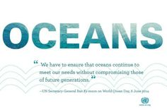 Celebrate & raise awareness for   #WorldOceansDay! 8th June 2014