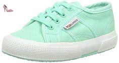 Superga 2750 Bebj Baby Classic, Sneakers Basses Mixte Enfant - Vert (pastel Green), 23 EU - Chaussures superga (*Partner-Link)