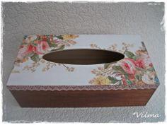 . Decoupage, Decorative Boxes, Home Decor, Decoration Home, Room Decor, Home Interior Design, Decorative Storage Boxes, Home Decoration, Interior Design