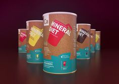 Mineral Diet on Packaging of the World - Creative Package Design Gallery