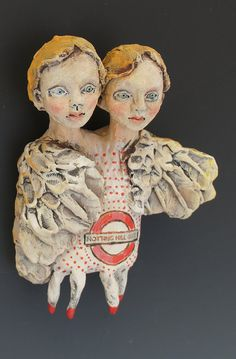 Notting Hill Gate ceramic sculpture by artist Victoria Rose Martin