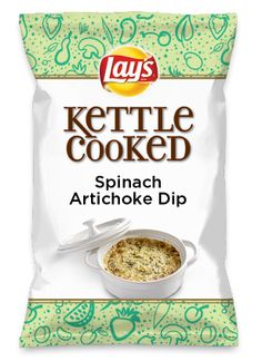 Wouldn't Spinach Artichoke Dip be yummy as a chip? Lay's Do Us A Flavor is back, and the search is on for the yummiest chip idea. Create one using your favorite flavors from around the country and you could win $1 million! https://www.dousaflavor.com See Rules.