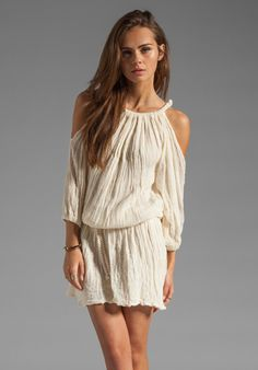 Jen's Pirate Booty Runway Bay Mini Dress in Natural