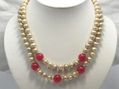 Charming 17''-18'' 8-9 mm cultured pearl  jade Necklace