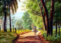 pintura-de-paisajes-rurales-de-campo.jpg (1024×721)