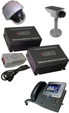Enable-IT 865 Pro 100Mbps Full Duplex Ethernet Extender Kit