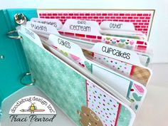Happy Tuesday Doodlebug fans! It's Traci, back from Artsy Albums , to share my holiday project with you. I created a little recipe album f...
