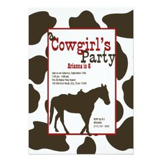 Cowboy Birthday Party