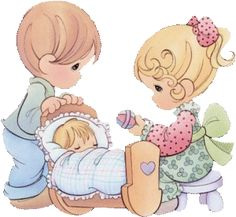 Precious Moments. I used to LOVE precious moments!