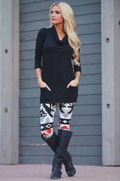 Everyday Tunic - Black from Closet Candy Boutique