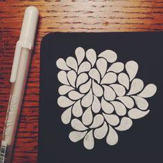 Got a black Moleskine sketchbook for Christmas….SO EXCITED.