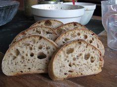 Refresh the sourdough properly and you get great bread!  Here is how...
