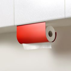 Clever kitchen paper towel holder