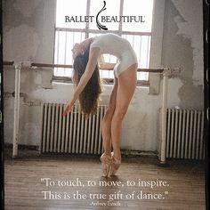 Ballet Beautiful: The true gift of dance #balletbeautiful
