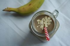 10 Healthy Breakfast Smoothies To Take On The Go - Simple Cooking For Simple People INGREDIENTS cup Espresso or cup Hot Brewed Coffee 1 Banana 1 tbsp Peanut Butter cup Rolled Oats 1 tbsp Honey 1 cup Almond Milk cup Ice Breakfast Smoothie Recipes, Green Smoothie Recipes, Healthy Smoothies, Morning Smoothies, Simple Smoothies, Breakfast Fruit, Vegetarian Breakfast, Smoothie Drinks, Free Breakfast