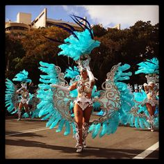 Wahnsinn: dieser Karneval in Santa Cruz auf Teneriffa ist absolut atemraubend.