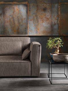 QUARTET Divano con chaise longue by GURIAN design Zeno Nugari