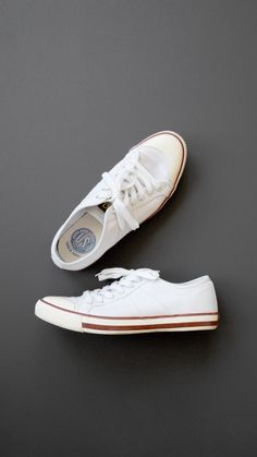 881df56601605c Low Top White Sneakers from Colchester Rubber Co.  kicks  sneakers  shoes  White