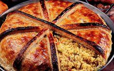 Perdeli Özbek Pilavı French Toast, Breakfast, Food, Bulgur, Morning Coffee, Essen, Meals, Yemek, Eten
