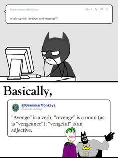 The YUNiversity- Avengers, Revengers, and Dark Knights