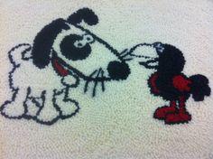 hand tufted carpet detail. Sonia