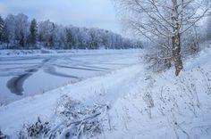 Зима на канале имени Москвы.(17)