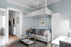 Behrer & Partners Our homes Small Apartment Design, Small Apartments, Love Home, Minimalism, Kitchen Decor, Shabby Chic, New Homes, House Design, Living Room