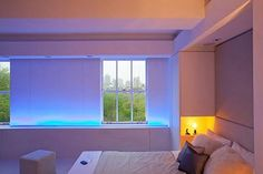 Deco tendencias en iluminación led & Color changing led lights for the bedroom (led strip lighting) #blue ...