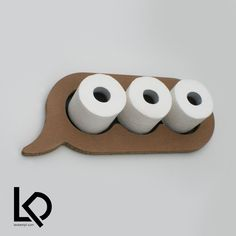 Toilet Paper Storage, Toilet Paper Roll, Craft Storage, Cardboard Paper, Cardboard Furniture, Diy Paper, Toilet Decoration, Gravure Laser, Storage Design