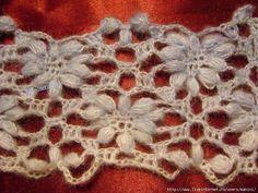 Hip & Kneuterig: Bloemensteek haken / Flowerstitch crochet