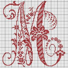 Ancient old cross stitch alphabet - free cross stitch patterns crochet knit. - Ancient old cross stitch alphabet – free cross stitch patterns crochet knitting amigurumi - Cross Stitch Alphabet Patterns, Embroidery Alphabet, Cross Stitch Letters, Cross Stitch Samplers, Cross Stitch Flowers, Cross Stitch Charts, Cross Stitch Designs, Cross Stitching, Cross Stitch Embroidery