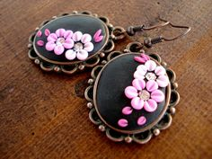 Polymer Clay Jewelry Dangle Earrings