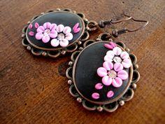 Polymer Clay Jewelry Dangle Earrings